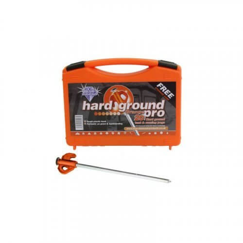 Blue Diamond Orange Hard Ground Pro 20 Pegs