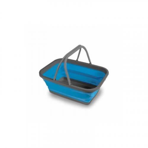 Blue Medium Collapsible Washing Bowl - CW0081