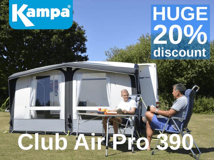 Kampa Club Air Pro 390 2