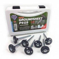 Blue Diamond Groundsheet Pegs