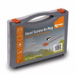 Steel Screw-In Peg Pack