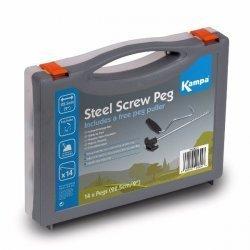Steel Screw Peg Pack