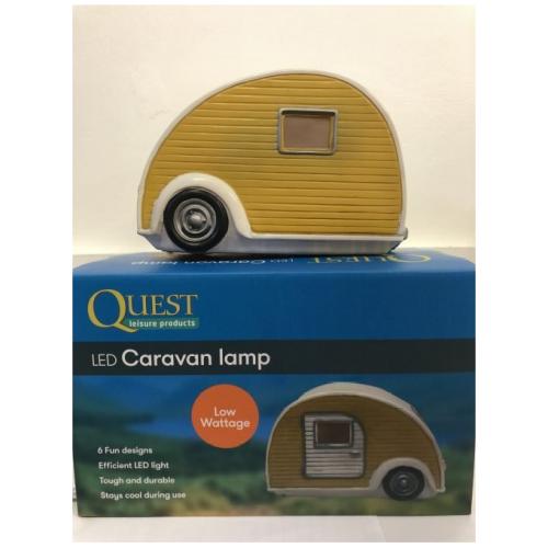 LED Caravan Lamp Orange 2