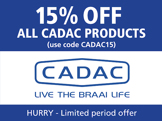 15% off Cadac products