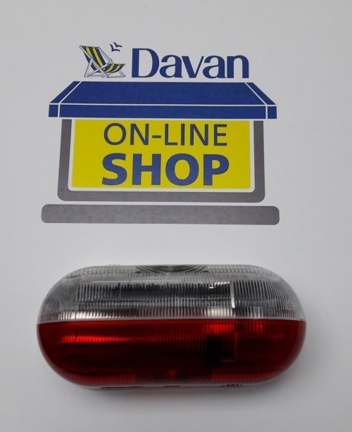 Red and Clear Marker Light