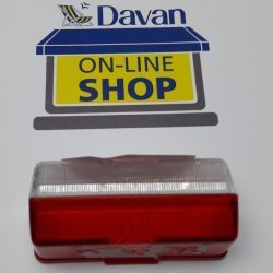 Marker Light red and Clear