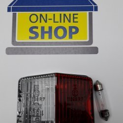 Marker light Red/Clear