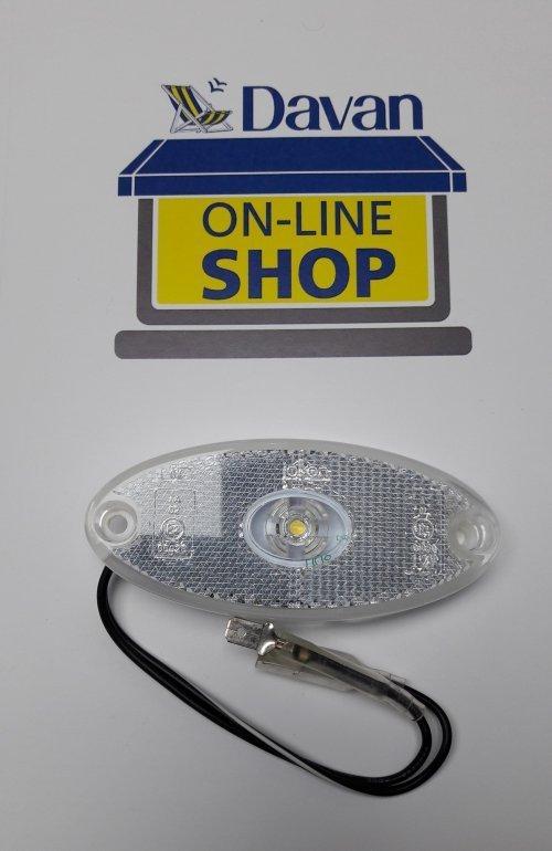 Front LED Marker light white/clear