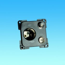 C-Line 12 Volt, TV & Satelite Socket