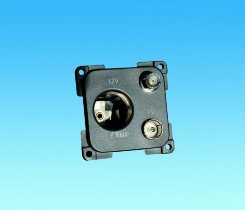 C-Line 12 Volt, TV & Satelite Socket