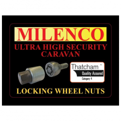 Milenco Locking Wheel Nuts
