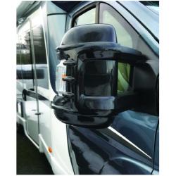 Milenco Long Arm Mirror Protectors Black