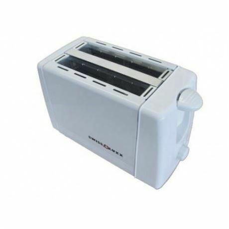 Swiss Luxx White Toaster