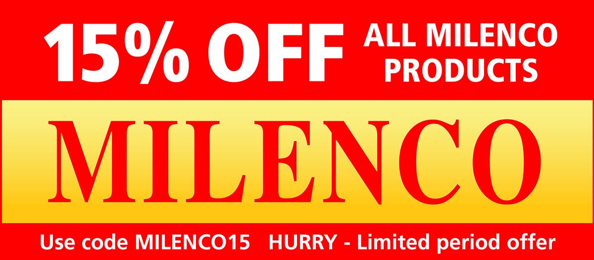 Milenco products sale